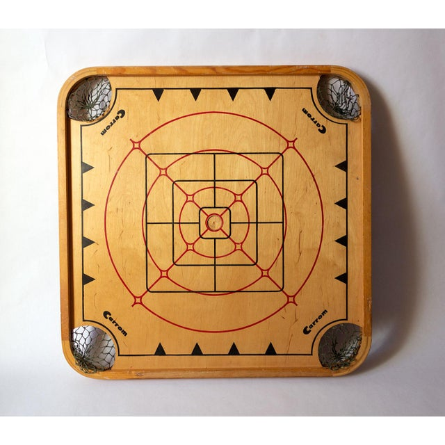 Americana 1960s Vintage Carrom Board For Sale - Image 3 of 5
