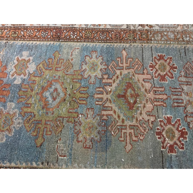 Antique Persian Malayer Runner - 2′10″ × 19′ - Image 6 of 11