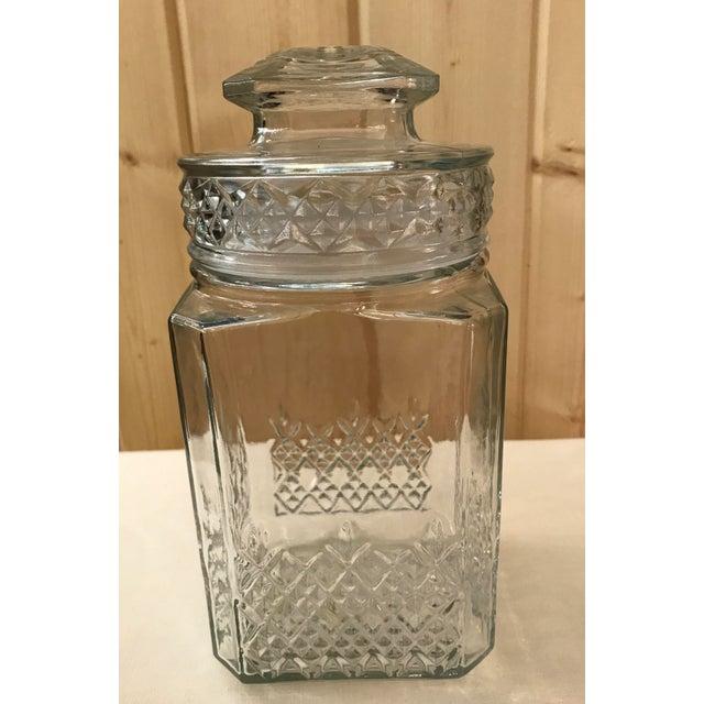Vintage Square Canister Jar - Image 2 of 11