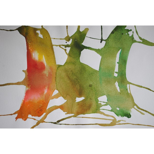 1974 Abstract Painting by Jacob Semiatin - Image 3 of 4