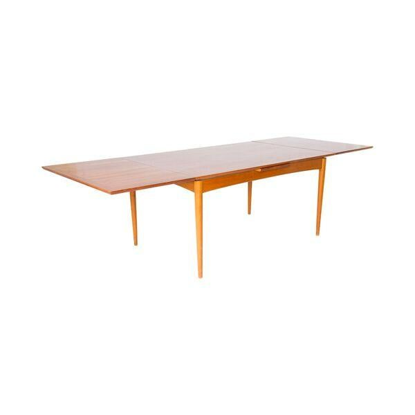 Danish Modern Teak Dining Table - Image 2 of 5