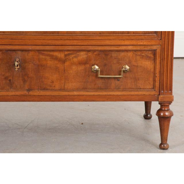Metal French 19th Century Louis XVI-Style Commode For Sale - Image 7 of 11