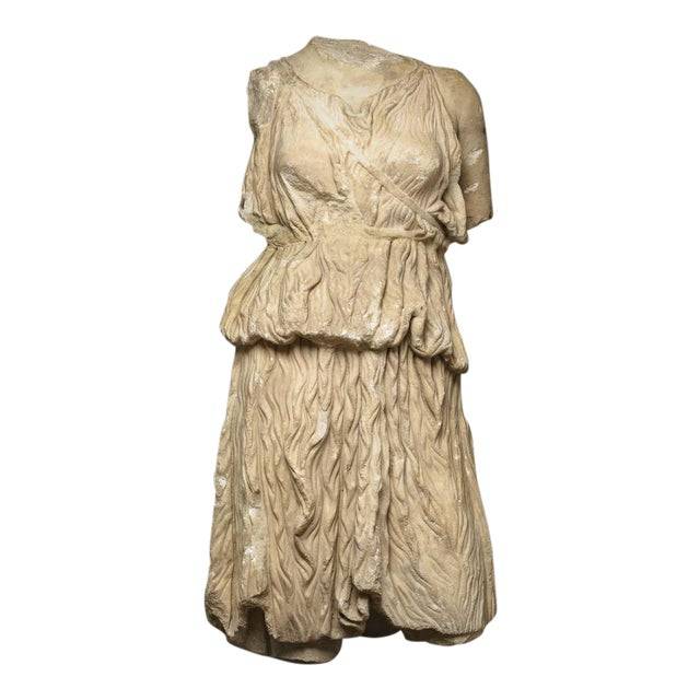 Roman Marble Torso of the Goddess Diana For Sale