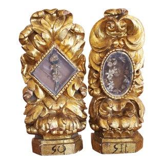 Pair of Baroque Reliquaries For Sale