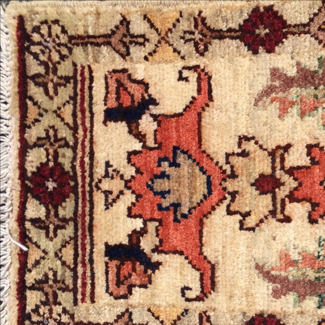 Sultanabad Persian Rug - 1′4″ × 1′11″ - Image 5 of 10