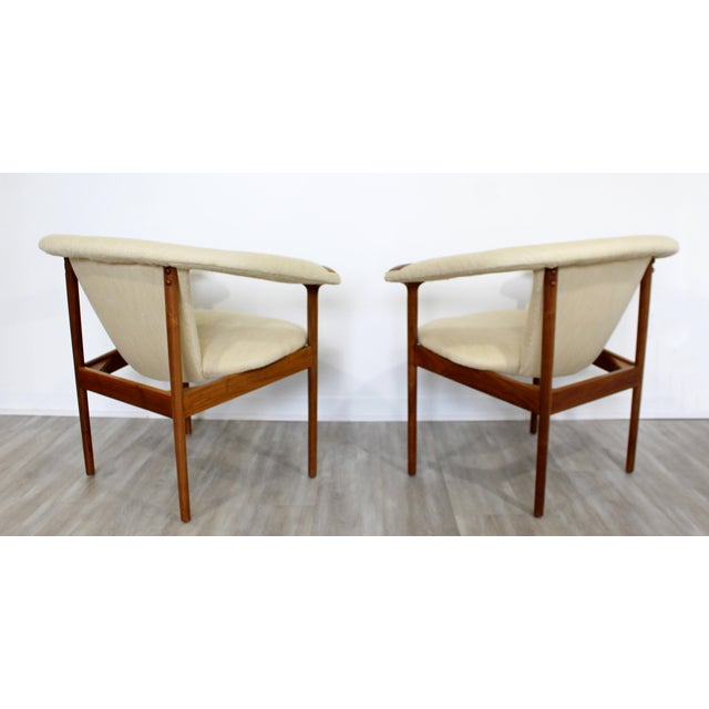 Wood Mid Century Modern Adrian Pearsall Wood Lounge Armchairs - a Pair For Sale - Image 7 of 9