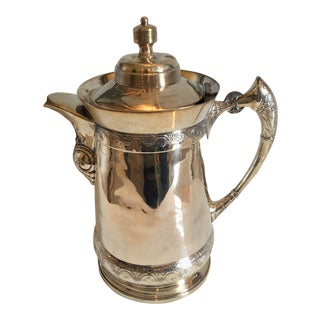 1910s Hollywood Regency Silver Coffee or Tea Server
