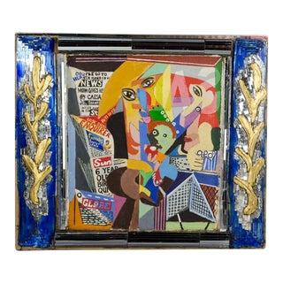 1980s Vintage Loren J. Munk Contemporary Painting For Sale
