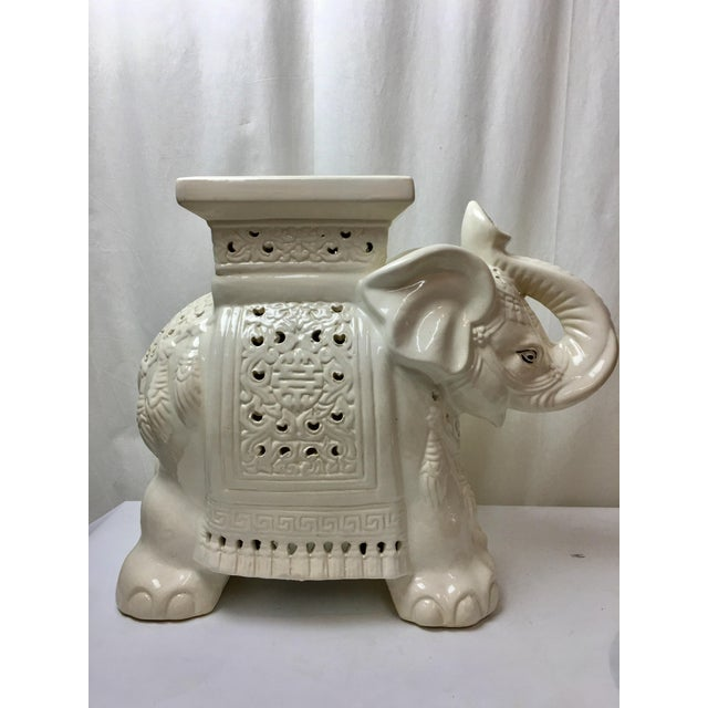 Elephant Garden Stool - Image 2 of 5