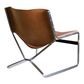 Rare Pierre Paulin for A. Polak Originals Lounge Chair For Sale