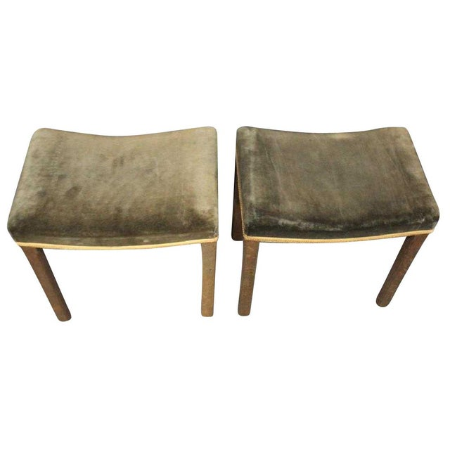 1930s Pair of 1930s George VI Coronation Stools For Sale - Image 5 of 6