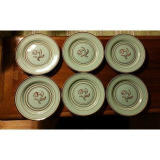 Franciscan Ware Padua Celadon Plates - Set of 6 Preview