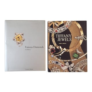 Diamonds and Tiffany Jewelry Books - a Pair For Sale