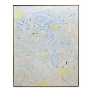 "John O'Hara. Flats 2. 49.25x61.25"" Encaustic Painting For Sale"