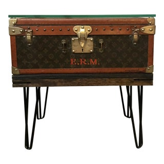 Louis Vuitton Trunk Custom End Table