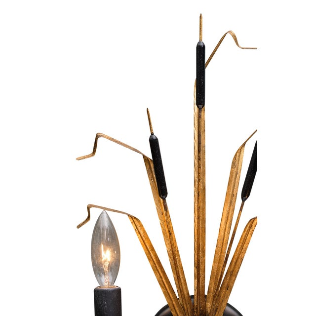 Vintage French Sheaf of Wheat Sconces by Maison Baguès For Sale In Austin - Image 6 of 10