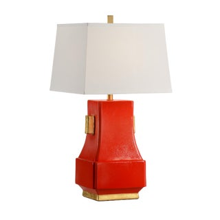 Wildwood Mandarin Persimmon Lamp For Sale