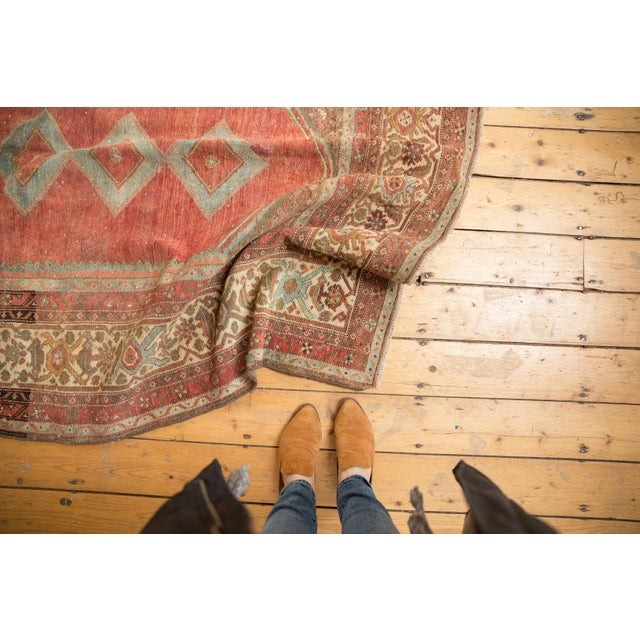"""Vintage Distressed Malayer Rug - 5' X 7'7"""" For Sale - Image 10 of 13"""