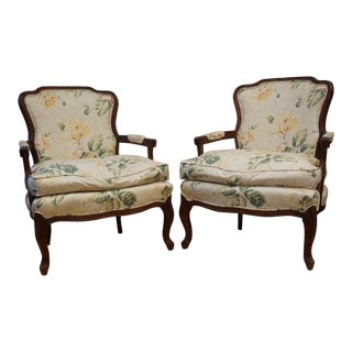 1980s Vintage French Berger Chairs- A Pair For Sale