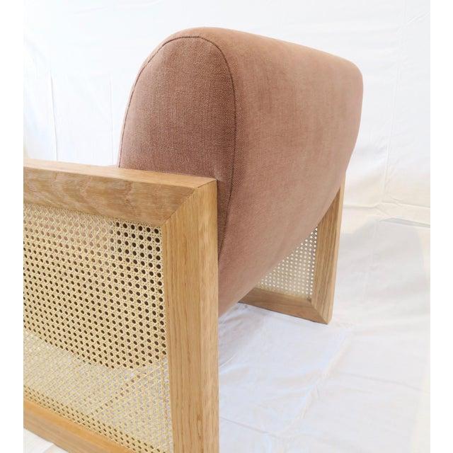 Custom Cane Armchair - Image 6 of 10