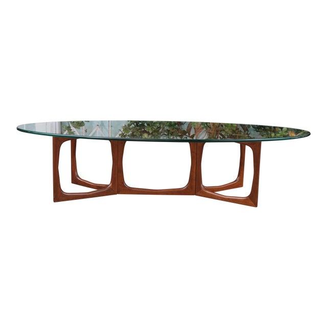 Mid Century Modern Adrian Pearsall Walnut Coffee Table Chairish
