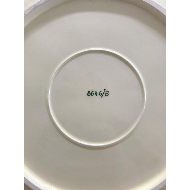 Ardalt Mid 20th Century Lenwile Ardalt Artware Lime Citrus Dinner Plates - Set of 4 For Sale - Image 4 of 8