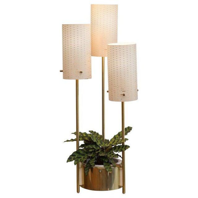 Lightolier Planter Lamp For Sale - Image 10 of 11