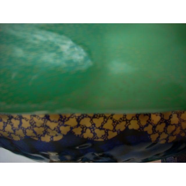 Green & Brass Parrot Sculpture - Image 7 of 7
