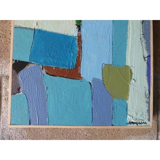 "2010s ""Carrés Et Couch De Couleur"" an Original Contemporary Painting by American Artist Kenneth Joaquin For Sale - Image 5 of 13"