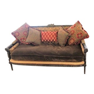 Carol Bolton Hicks Louis Gibbs Loveseat by Ej Victor For Sale