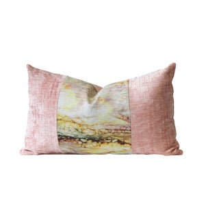 Pretty in Pink Designer Down Pillow For Sale