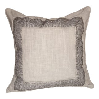 Travers Beaded Desky Pillow Cover For Sale