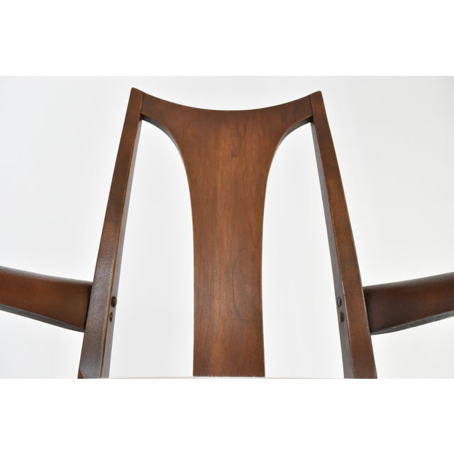 Mid-Century Broyhill Premiere Dining Chairs - Set of 6 - Image 7 of 10