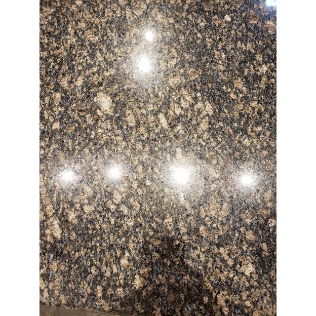 Stone 1980s Rectangular Italian Granite Coffee Table For Sale - Image 7 of 10