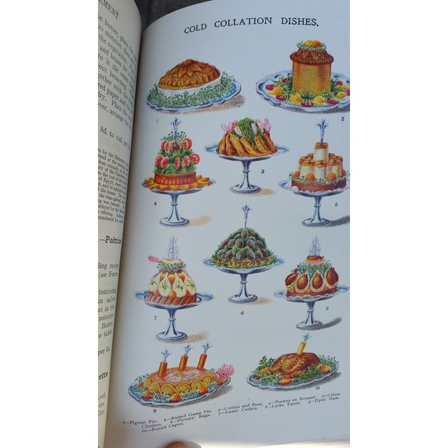 1900 Antique Mrs Beetons Cookery Book - Image 8 of 10