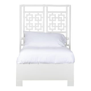Palm Springs Bed Twin - White For Sale
