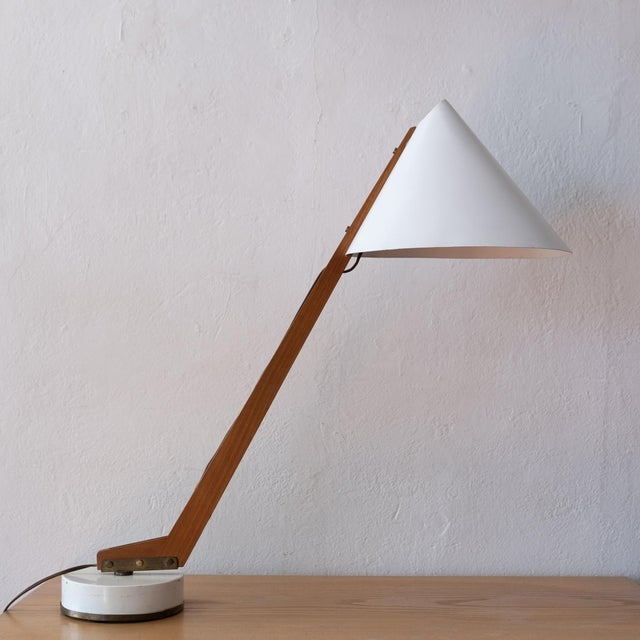 1950s Hans-Agne Jakobsson Desk Lamp For Sale - Image 13 of 13