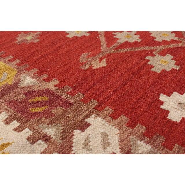 "Handmade Flatweave Turkish Kilim - 6'8"" X 9'8"" - Image 2 of 2"
