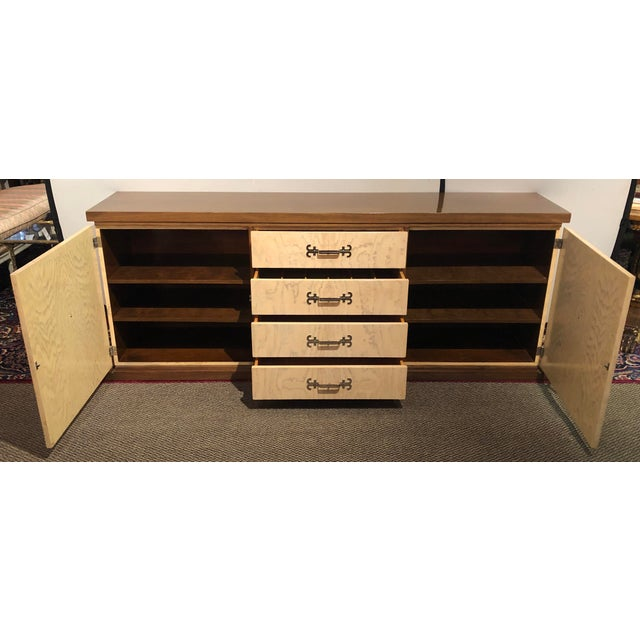 Hollywood Regency Tommi Parzinger Spectacular Sideboard / Credenza Branded Parzinger Original For Sale - Image 3 of 13