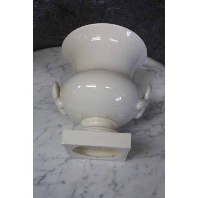Lenox Lenox Traditional White Urn For Sale - Image 4 of 6