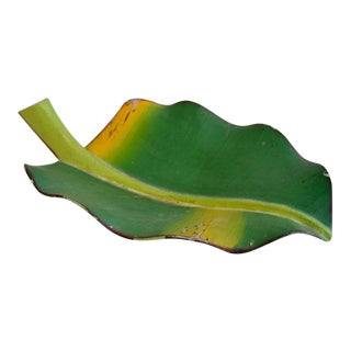 Banana Leaf Decorative Bowl For Sale