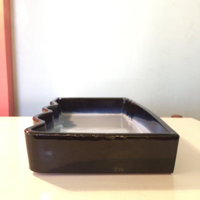 Japanese Ikebana Glazed Ceramic Pottery For Sale - Image 4 of 7