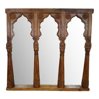 Old Triple Archway Mirror For Sale