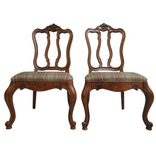 Ethan Allen Tuscany French Carved Dining Room Side Chair