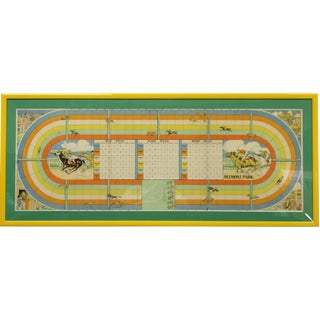 Belmont Park Game Board For Sale