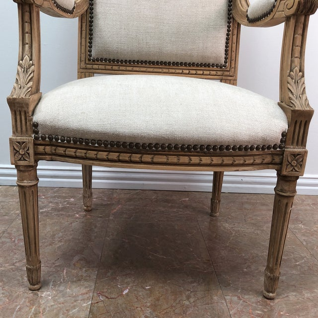 French Antique French Chairs- A Pair For Sale - Image 3 of 9 - Antique French Chairs- A Pair Chairish