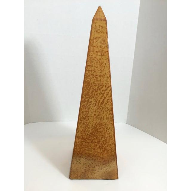 Large Goatskin Porphyry Obelisk - Image 6 of 9