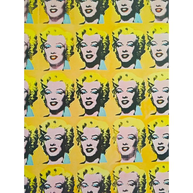 "Andy Warhol Rare Vintage 1995 Lithograph Print Poster ""Marilyn Diptych"" 1962 For Sale In Kansas City - Image 6 of 11"