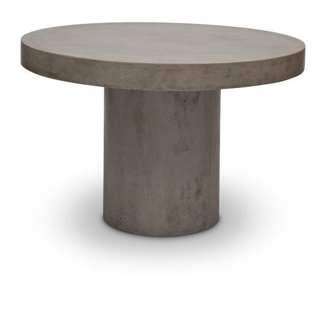Fiberglass Dining Table in Natural Gray For Sale - Image 7 of 7