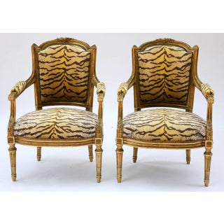 Early 19th Century Guidnon & Fils Carved Giltwood Fauteuils - a Pair Preview